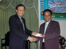 Appreciation for Rev. James Puang