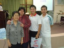 Gift for Rev Tiong Chiw Ing