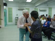 Rev Geoffrey Senior & Rev Tiong Chiw Ing