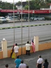 20160915_Flag Raising Ceremony_升国旗和州旗仪式_1