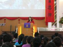 讲员叶莲花Speaker Rev. Yap Lian Fah