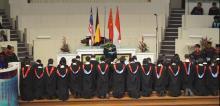 院牧陈发文牧师祷告差遣 Prayer of Commissioning by Chaplain Rev. Ting Huat Ung