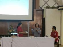 Rev.Elizabeth Enjut Sharing